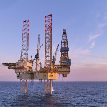 ExxonMobil is still extracting gas from Bass Strait.