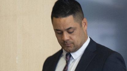 Jarryd Hayne denies making up lies in evidence at his sex assault trial