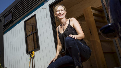 Tiny house means big lifestyle change in St Kilda
