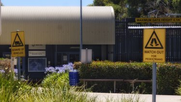 The now-closed Maribyrnong detention centre.