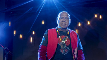 Archie Roach performs songs from his album Charcoal Lane as part of Recharge 2020 Festival on Sunday, May 17.