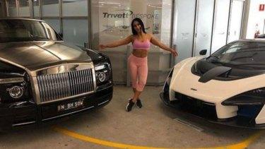 Margarita Tomovska has a love for luxury vehicles.