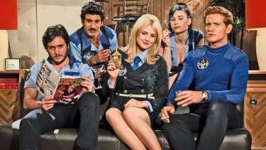 Local cult comedy Danger 5 has re-emerged as a radio play.