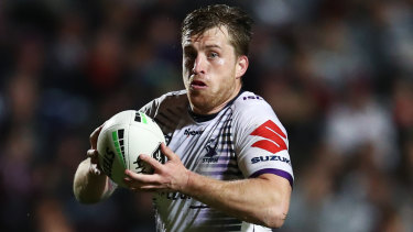At 25, Cameron Munster sees himself as too young to be much of a leader so he leads with his actions.