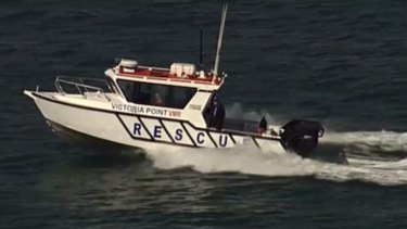 Water Police, Volunteer Marine Rescue and Coastguard boats have spent days scouring Moreton Bay in formation.