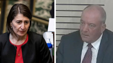 Premier Gladys Berejiklian and disgraced former MP Daryl Maguire were in a relationship for five years .