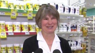Pharmacist Emma Erasmus.