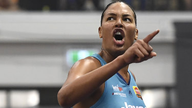 Liz Cambage's Flyers won the title.
