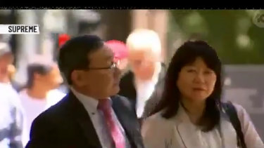 Masayuki and Minako Kanno, parents of Gargasoulas' first victim Yosuke Kanno.