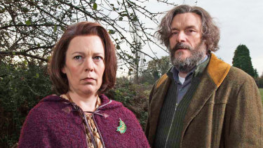 Olivia Colman quietly triumphs once again in Flowers, which is about an anxious woman and her deeply depressed husband (Julian Barrett).