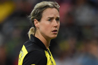 Ellyse Perry has batted at six and seven in Australia's first two games of the World Cup.