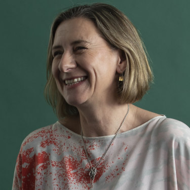 """Gail Matthews, head of Infectious Diseasesat St Vincent's: """"We were all learning as we went along, and there were always new questions and new problems, things that we hadn't thought of."""""""