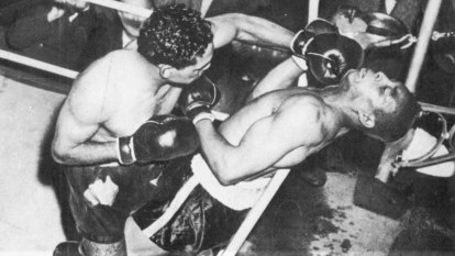 From the Archives, 1950: Indigenous boxer thrashes American Henry Brimm