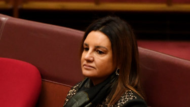 Jacqui Lambie has warned John Setka she will not be bullied into voting against the Ensuring Integrity Bill.