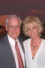 Professor Burke paid tribute to his wife, Katre Klettenberg, for her lifetime of support.