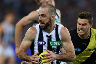 Collingwood is bracing for two weeks without Steele Sidebottom.
