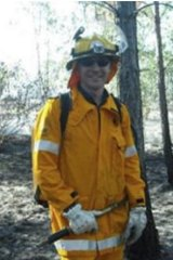 Queensland Rural Fire Brigade Association general manager Justin  Choveaux