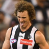 Milestone blow: Magpie Mayne in doubt with back injury