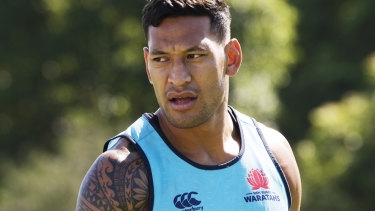 """I believe the Bible is the truth and sometimes the truth can be difficult to hear"": Israel Folau"
