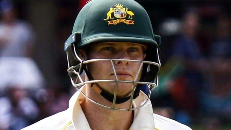 Sent home: Australian captain Steve Smith.