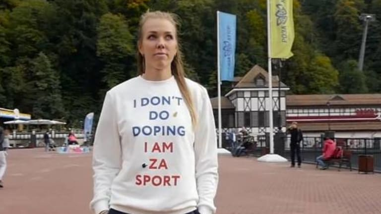 Are you sure?: Nadezhda Sergeeva, failed doping test at 2018 Winter Olympics.