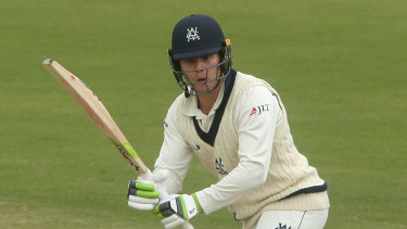 Will Pucovski has batted well so far on English soil.