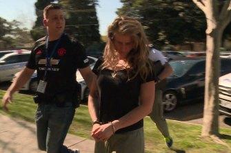 Lauren Hindes was arrested a few days after the fatal crash.