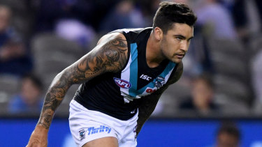 Port Adelaide say Chad Wingard is staying put.