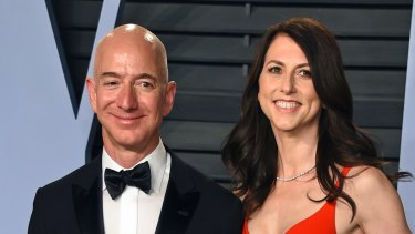 MacKenzie Bezos retains 4 per cent of Amazon in the divorce.