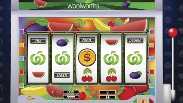 Woolworths still owns the majority of  ALH Group, Australia's largest poker machine operator.