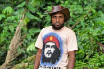 Papuan pro-independence leader Victor Yeimo.