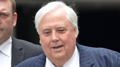 'Time he cut his losses': Palmer's $28b shot at WA government fails in High Court