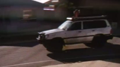 'A very daft thing to do': Shocking CCTV shows girls riding on 4WD roof racks