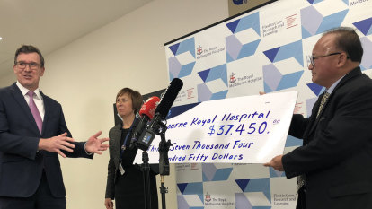 Hospital returns cash donated by man accused of foreign interference