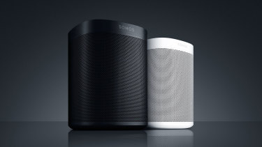 The Sonos One brings Amazon's Alexa, and soon Google's Assistant, to Sonos homes.