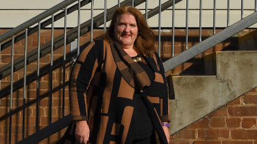 Sydney principal Denise Lockrey says she uses a range of techniques to improve her ability to cope with work.