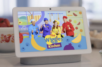 The Wiggles Kitchen provides a pavlova experience in time for Christmas, but the plan is for a full suite of recipes and activities.