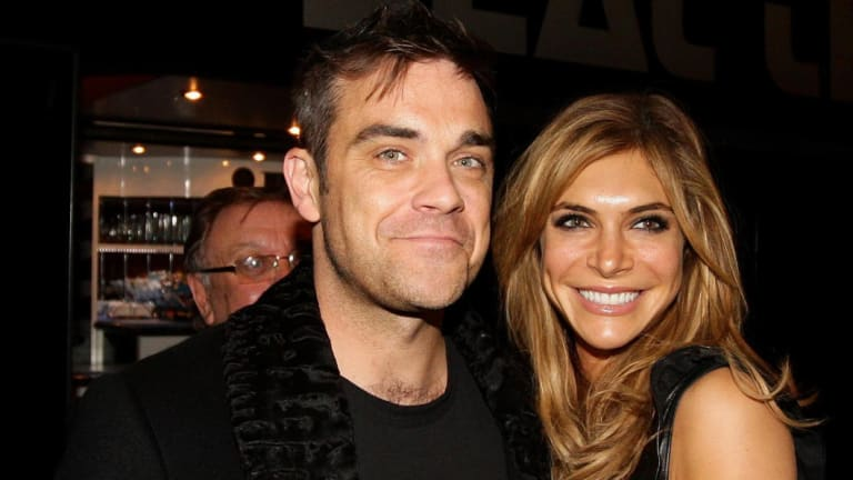 Robbie and Ayda Williams in a file photo.