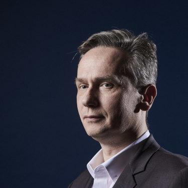Rio Tinto's CEO Jean-Sebastien Jacques in Melbourne.