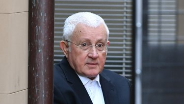 Jailed: Millionaire property developer Ron Medich pictured in 2018.