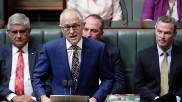 Malcolm Turnbull announces the 2018 Prime Minister's Closing the Gap Report.