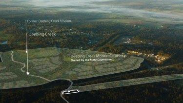 Frasers Property Group's Deebing Heights development at the Deebing Creek mission near Ipswich.