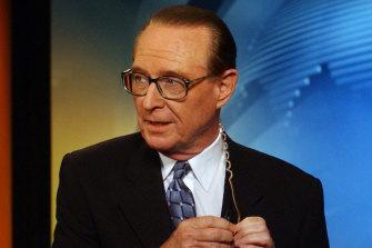 """Brian told me ... "": newsreading legend Brian Henderson."