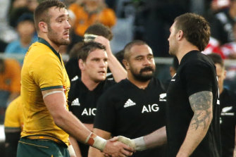Olive branch? Australia would recognise New Zealand's superior depth with greater financial reward.