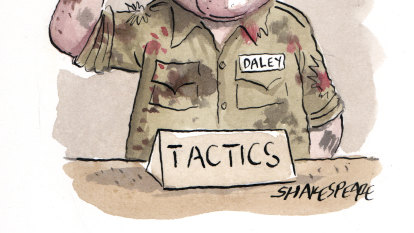 NSW Labor's Daley takes his seat at the tactics table