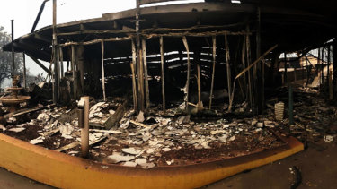 Club Malua was destroyed in the New Year's Eve bushfires.