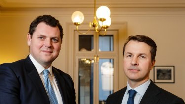 Rob Luciano and Doug Tynan run hedge fund VGI.