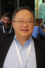 Former CSL employee Joseph Chiao at the conference in Hungary.