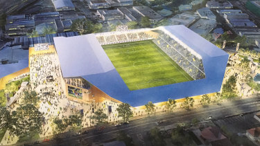 Brisbane Strikers' plan to transform Perry Parkremains a pipe dream after the club withdrew its A-League bid.