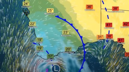 Unusual cold front to bring storms, rain and extreme fire danger to WA
